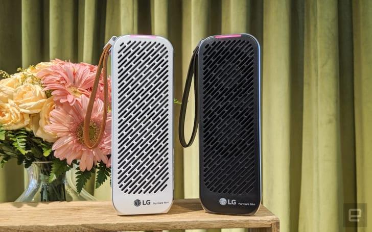 LG 在台湾推出「PuriCare Mini 随身净」携带型空气清净器