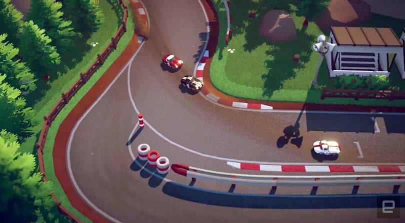 'Circuit Superstars' is the 'Forza' of Micro Machines