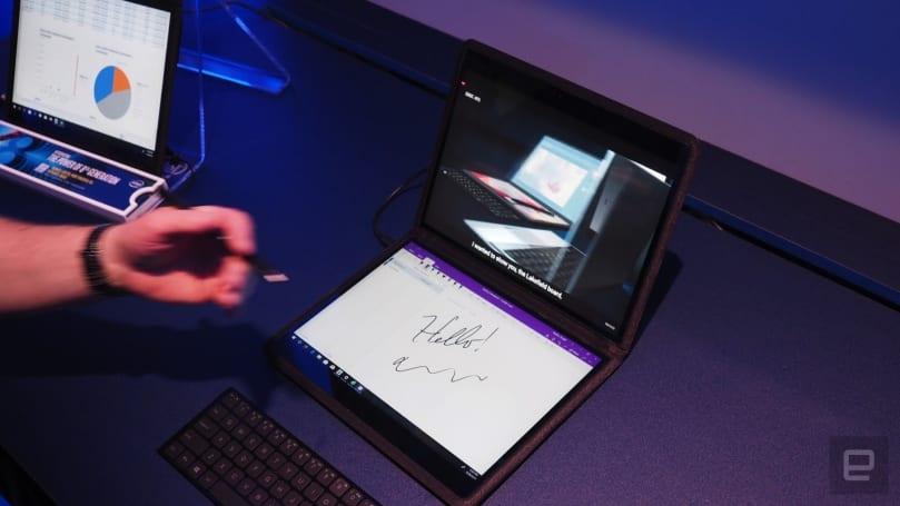 据传微软已在内部展示过双屏 Surface 新品