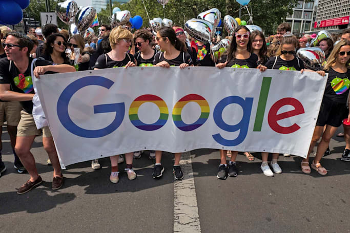 Google: Employees can protest YouTube, just not near its Pride float