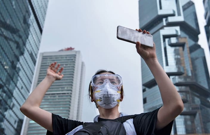 China flooded Telegram to stem dissent in Hong Kong, hints founder