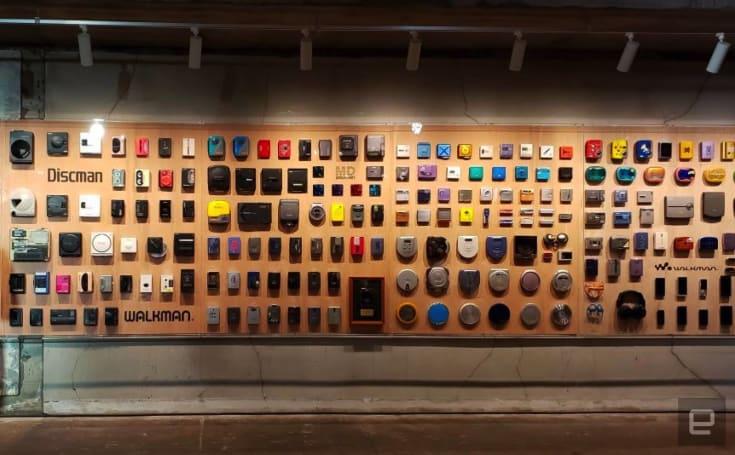 Sony's 230-Walkman exhibit celebrates 40 years of a music icon