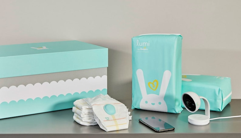 Pampers gets into smart diapers with Lumi