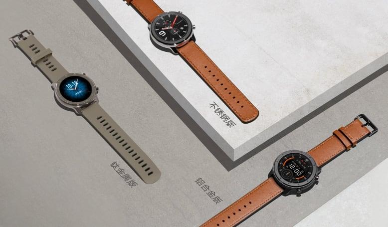 華米在新錶 Amazfit GTR 上繼續以材質為賣點