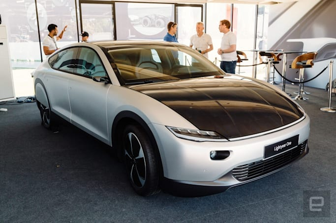 Lightyear One is a long and expensive solar-powered statement car