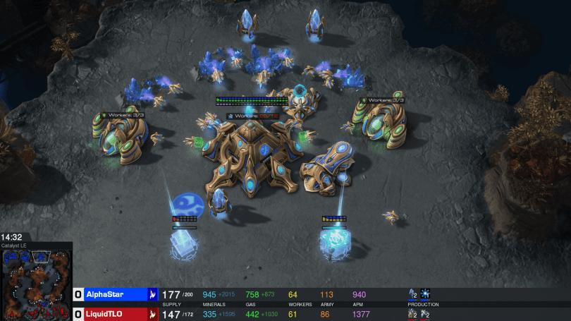 DeepMind 的 AlphaStar 要開始跟普通《星海爭霸》玩家對戰了