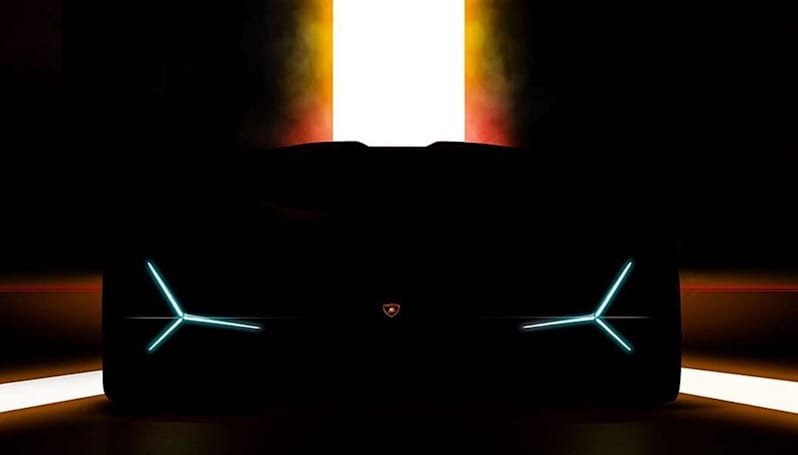 Lamborghini teaser hints at a hybrid 'hypercar'