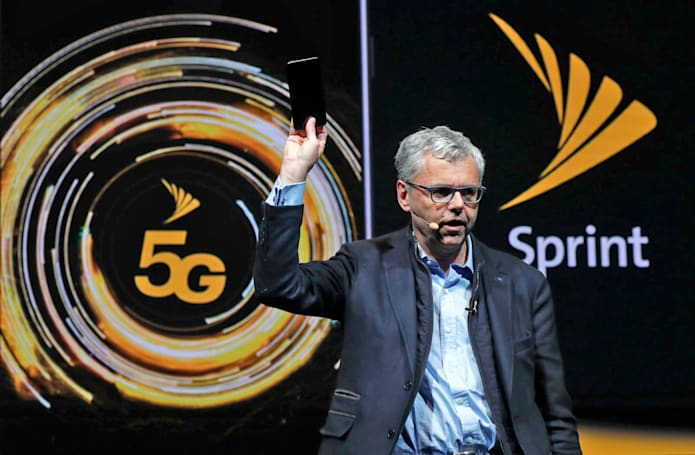 Sprint's 5G network goes live in NYC, LA, DC and Phoenix
