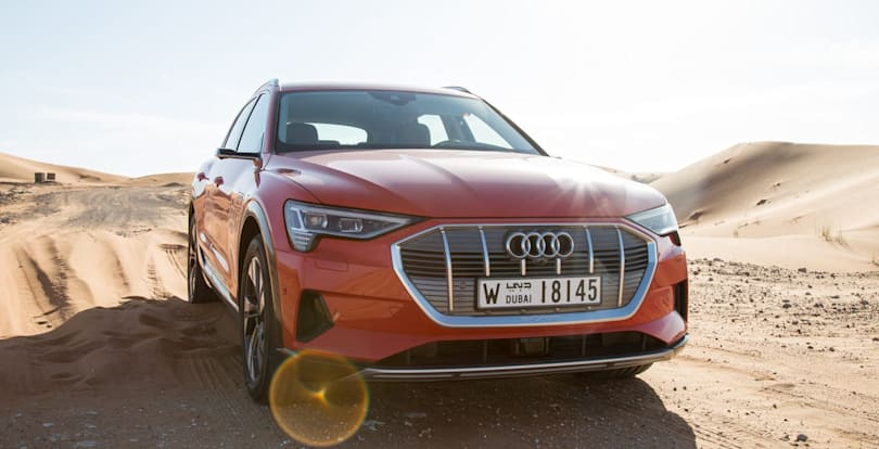 Audi's E-Tron becomes the first EV to win top safety award (updated)