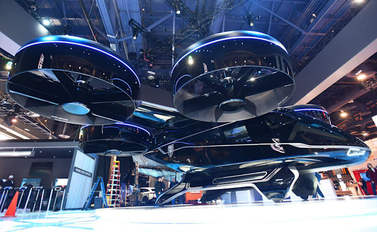 The dream of flying taxis may not be too far off