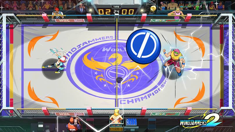 'Windjammers 2' is a stylish update to a Neo Geo classic