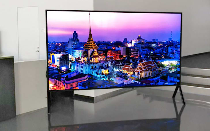 Sharp will show off the 'world's biggest' 8K LCD TV at IFA