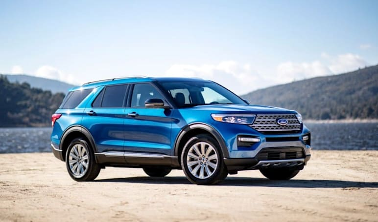 2020 Ford Explorer Hybrid delivers towing power and 500 miles per tank