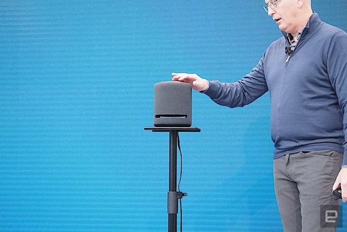 Amazon's Echo Studio promises immersive audio for $200