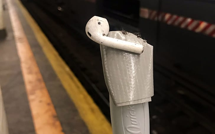 The MTA is tired of saving AirPods from subway tracks