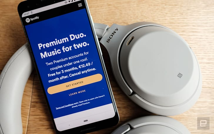 Spotify's Premium Duo plan expands to 14 countries