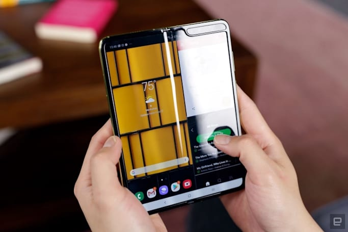 Samsung will start selling the Galaxy Fold in the US on September 27th