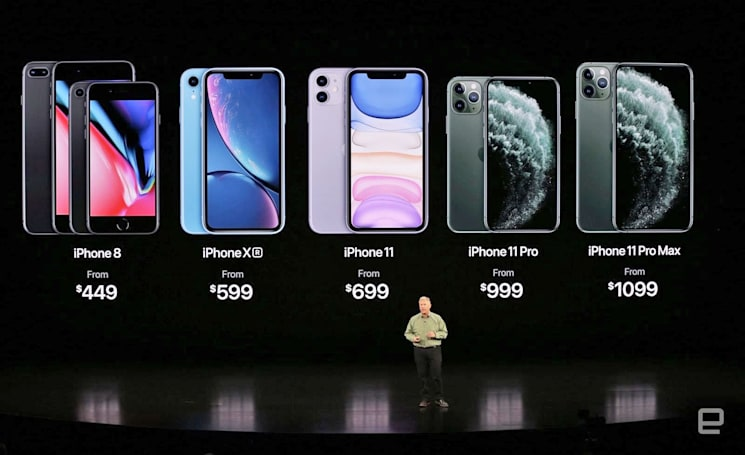 Apple's iPhone XR and iPhone 8 get big price cuts