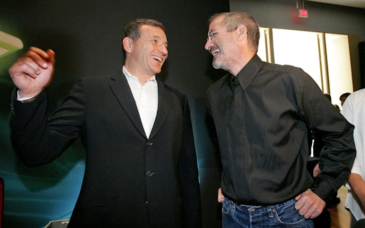 Bob Iger: Disney might have merged with Apple if Steve Jobs were alive