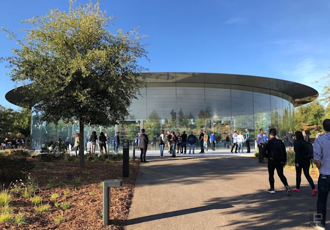 We're live at Apple's 2019 iPhone event!