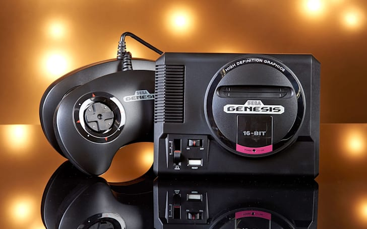 The Sega Genesis Mini is $30 off for Black Friday