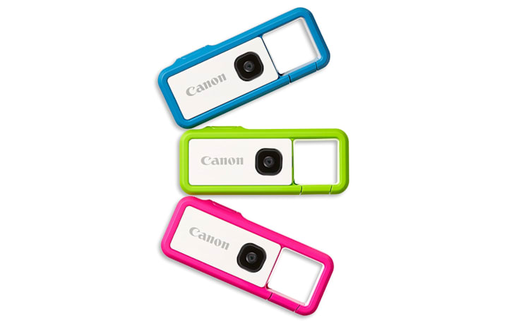 Canon's cute-but-tough Ivy Rec camera hits stores later this month