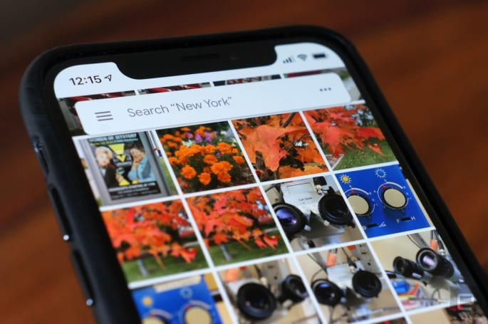 Google Photos lets you manually tag faces (as long as it sees them)
