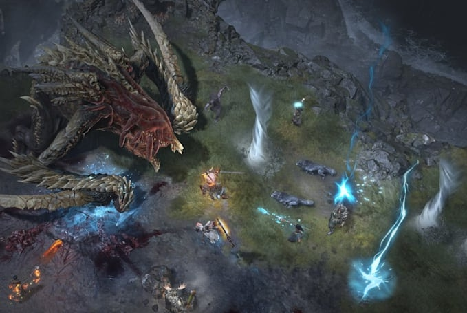 'Diablo IV' team reveals early thoughts on dungeons, level caps