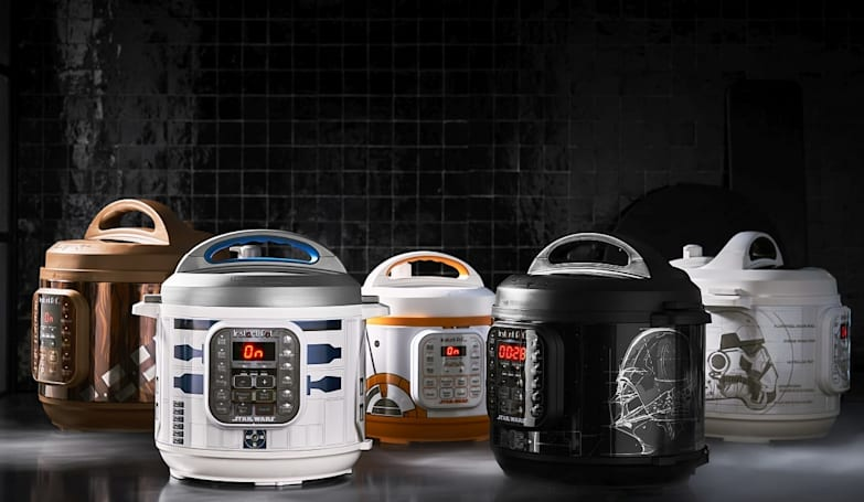 Star Wars-themed Instant Pots look like R2-D2, BB-8 or Darth Vader