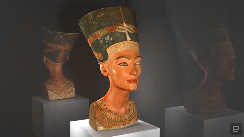 Nefertiti's bust joins the digital age
