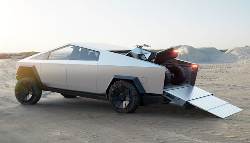 Tesla's electric ATV should launch at the same time as the Cybertruck