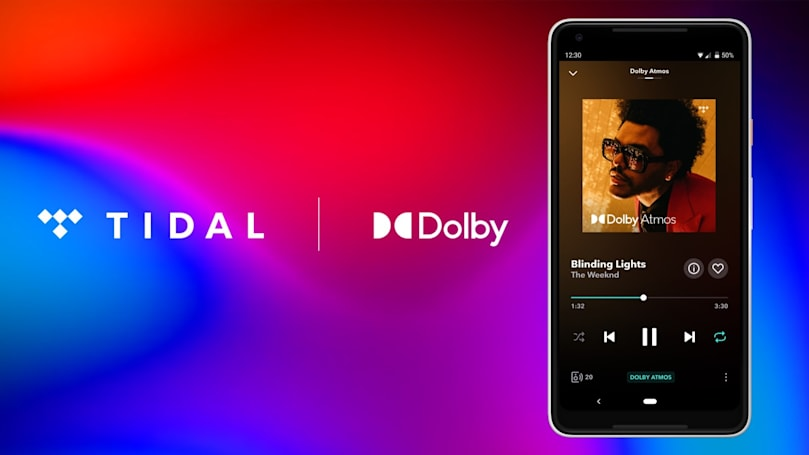 Tidal adds Dolby Atmos Music to its HiFi tier