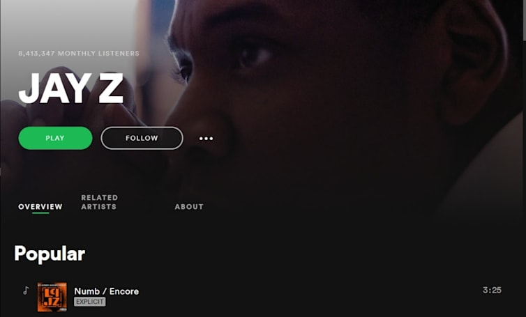 Jay-Z's music is back on Spotify after two years away