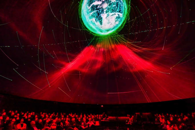 The Hayden Planetarium's new show celebrates unmanned space probes