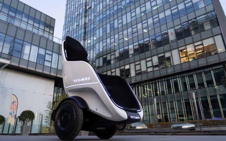 Segway's latest EV prototype looks like Professor X's wheelchair