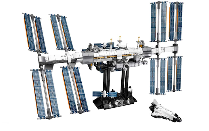 A Lego version of the International Space Station is coming February 1st