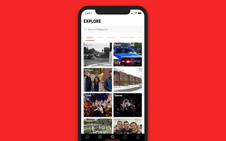 Flipboard adds a dedicated section for local news