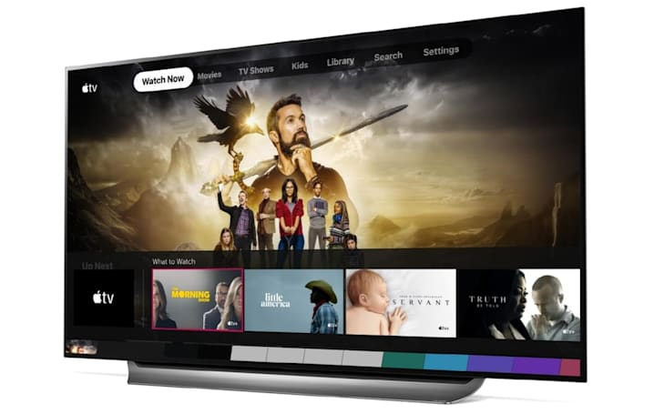 Now certain 2019 LG TVs have the Apple TV app too