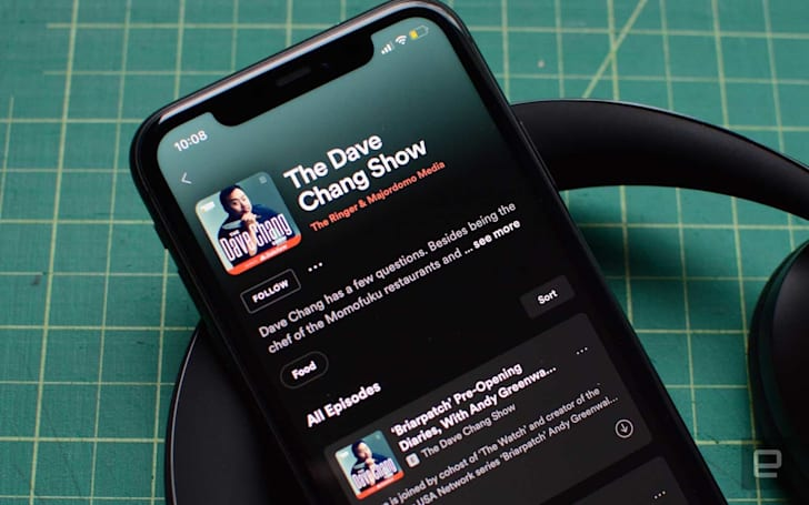 Spotify's trailer redesign makes it easier to find new podcasts