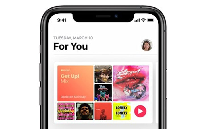Apple Music's AI-generated upbeat playlist helps you cope with reality