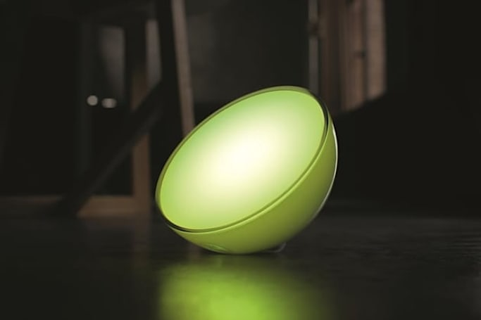 The Hue Go puts wireless lighting anywhere in your house