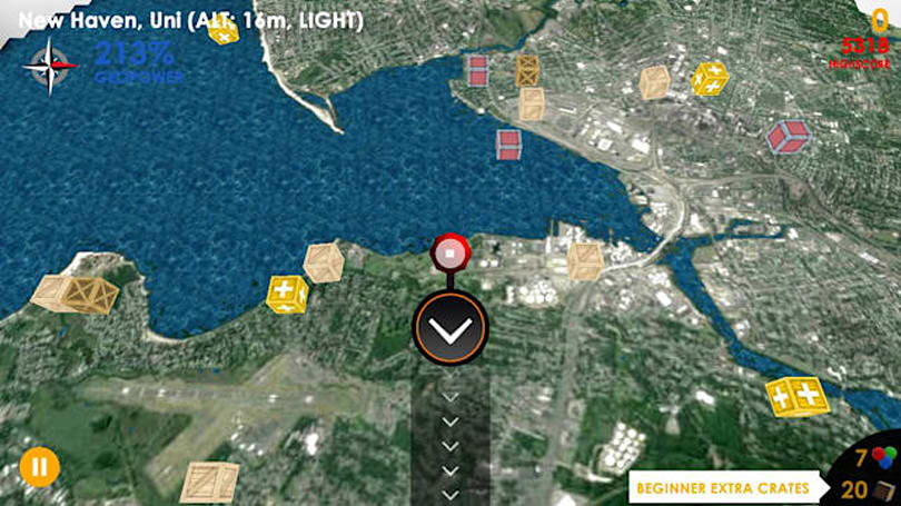 Geocannon lets you travel anywhere and conquer the city