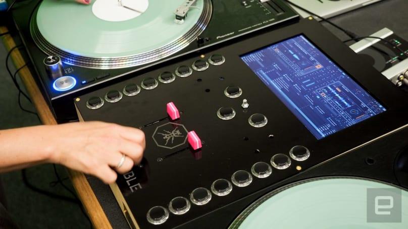 Thud Rumble's Intel-powered DJ mixer has a PC inside