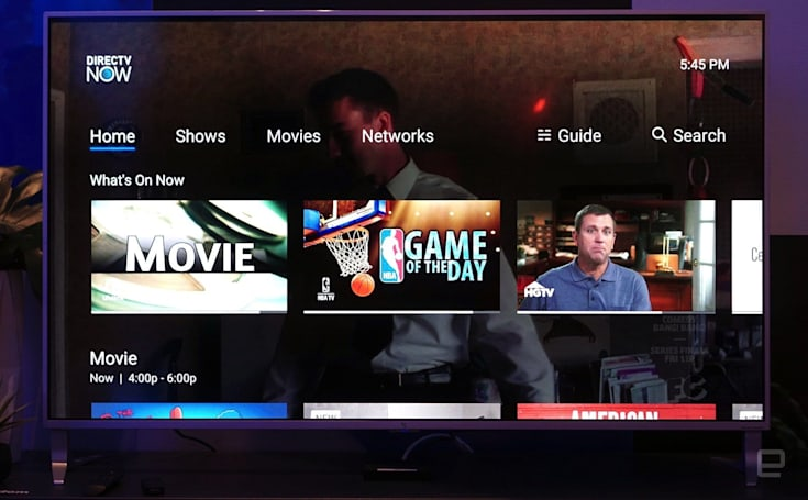AT&T's DirecTV Now expands its local channel lineup