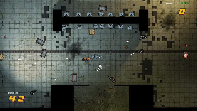 'Half-Life 2' plus 'Hotline Miami' equals 'Half-Line Miami'