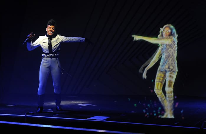 Celebrity augmented reality 'holograms' are coming