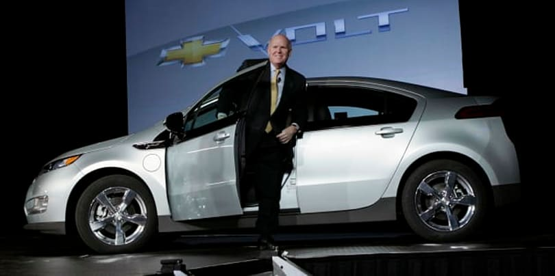 Ex-GM CEO has unsolicited advice for Apple and the auto industry