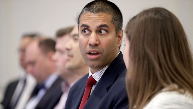 The FCC chairman thinks it's still 1996