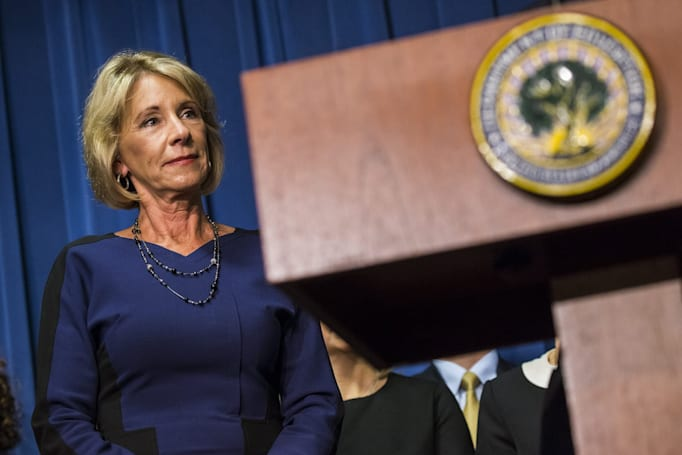 The future of STEM education is cloudy under Betsy DeVos
