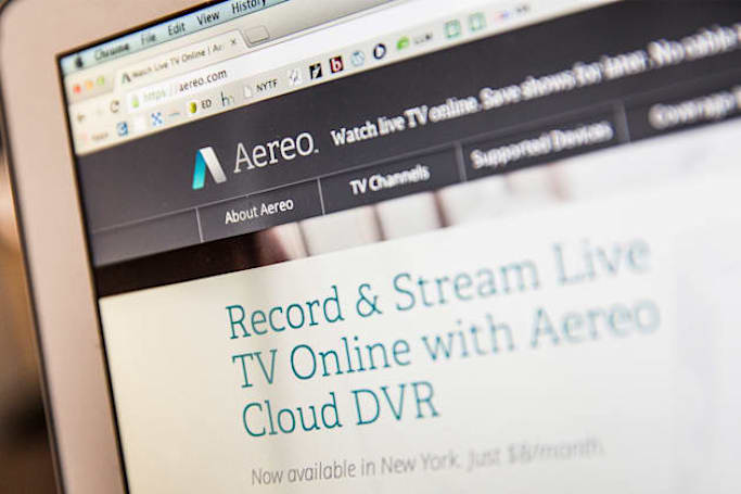 Aereo to pay broadcasters $950,000 for copyright claims